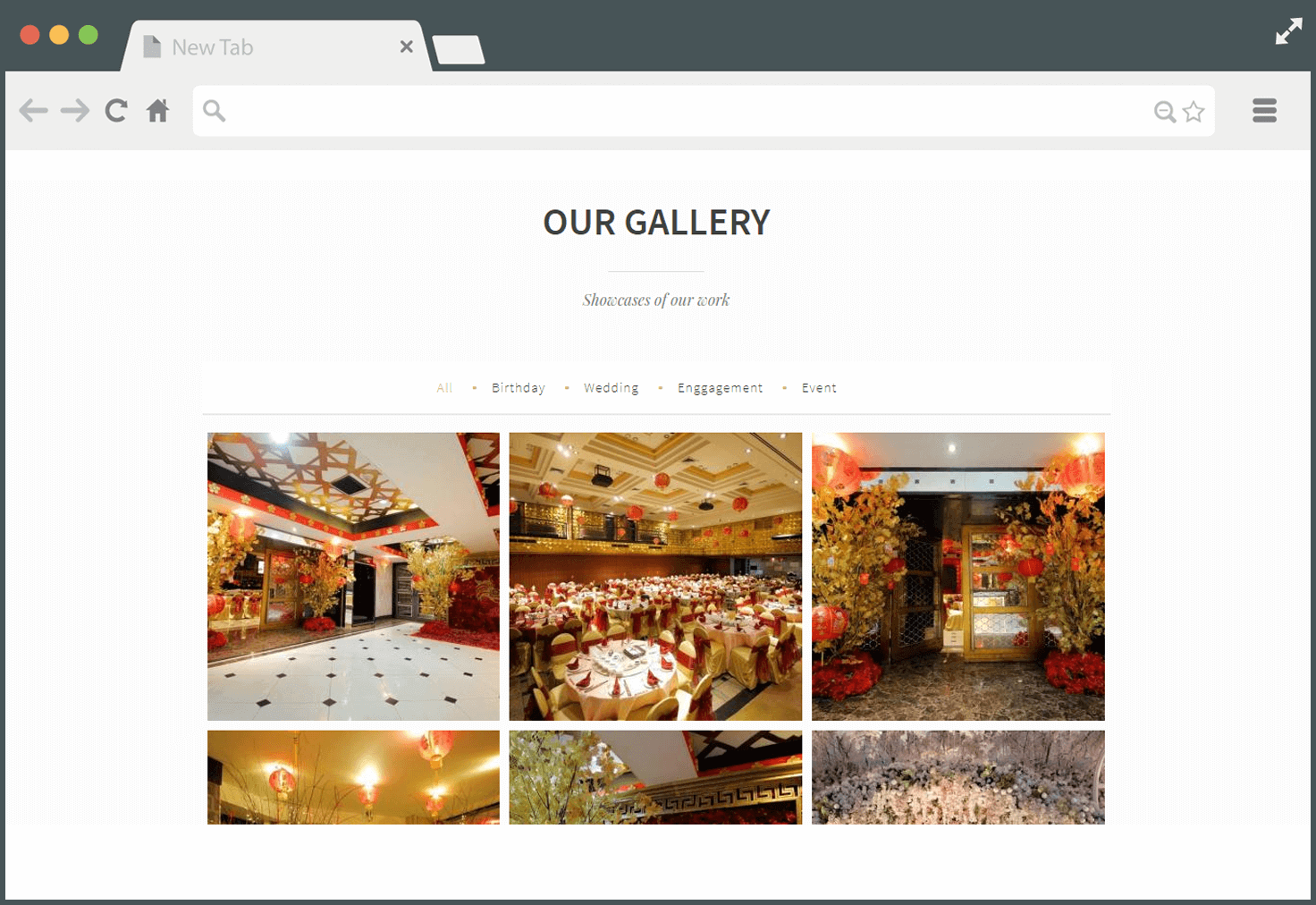 Our Gallery - Company Profile Website